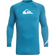 Quiksilver Men's All Time Long Sleeve Rash Guard