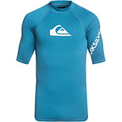 Quiksilver Men's All Time Short Sleeve Rash Guard