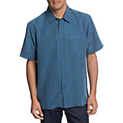 Quiksilver Men's Waterman Malama Bay Short Sleeve Shirt