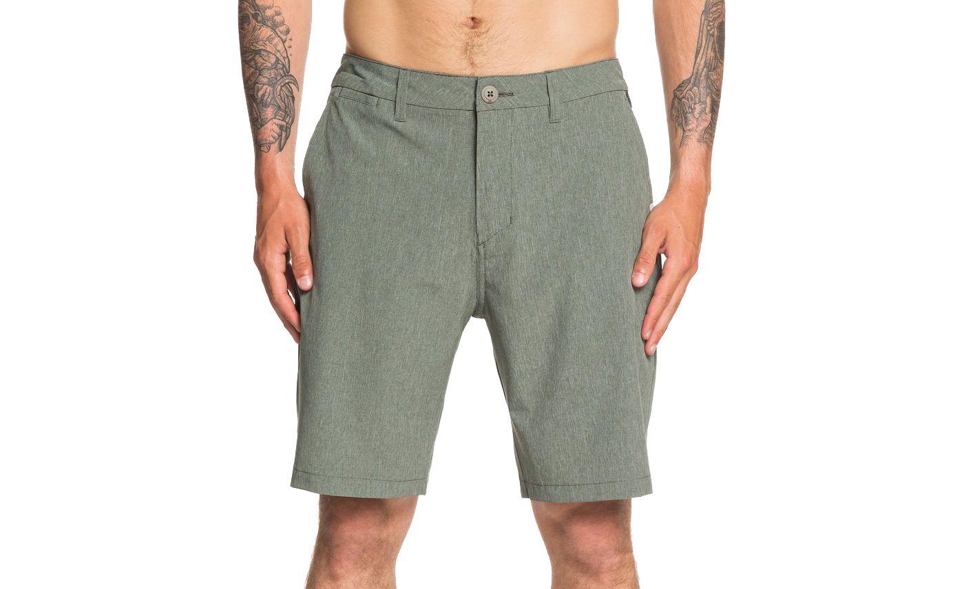"Quiksilver Men's Union Heather Amphibian 20"" Hybrid Shorts"