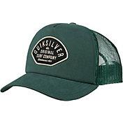 Quiksilver Men's Papa Deuce Curve Trucker Hat