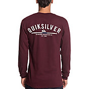 Quiksilver Men's Simple Color Long Sleeve Shirt