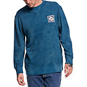 Quiksilver Men's Volcanic Ocean Crew Long Sleeve Shirt