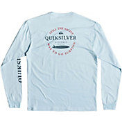 Quiksilver Men's Wasure Mono Long Sleeve Shirt