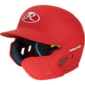 Rawlings Adult MACH Batting Helmet w/ Jaw Flap