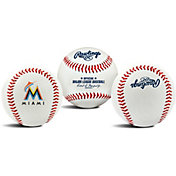 Rawlings Miami Marlins Logo Baseball