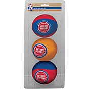 Rawlings Detroit Pistons Softee Basketball 3-Ball Set