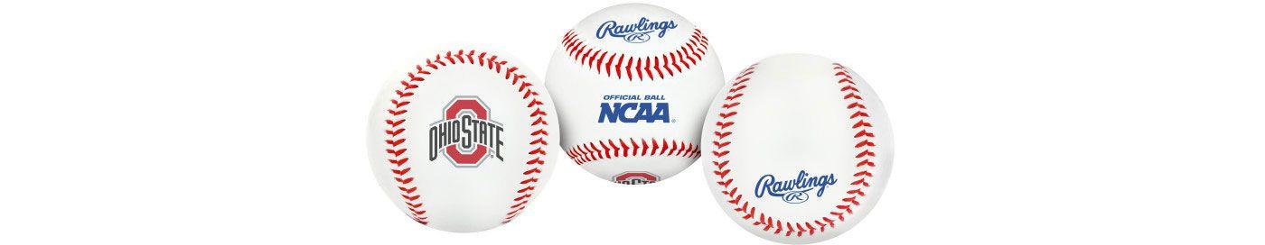 Rawlings Ohio State Buckeyes Logo Baseball