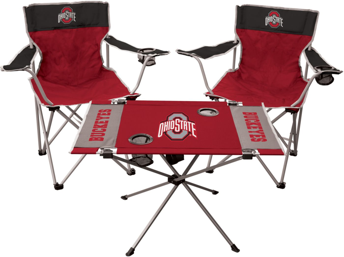 Rawlings Ohio State Buckeyes 3-Piece Tailgate Kit