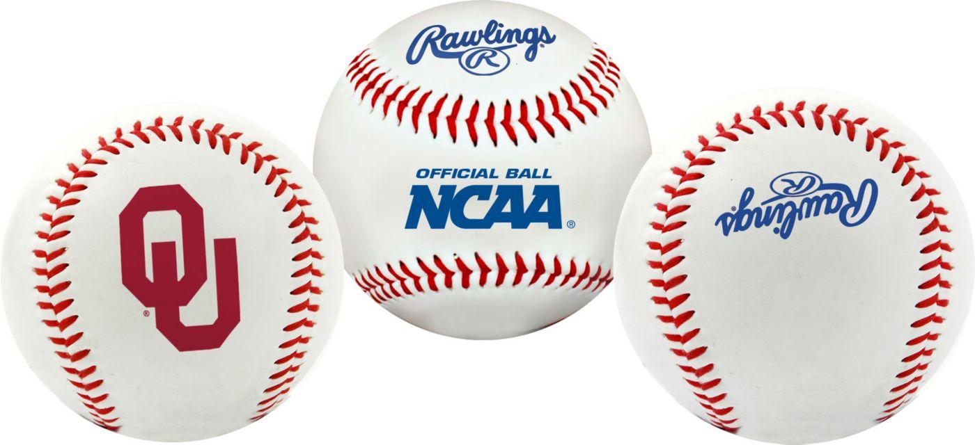 Rawlings Oklahoma Sooners Logo Baseball