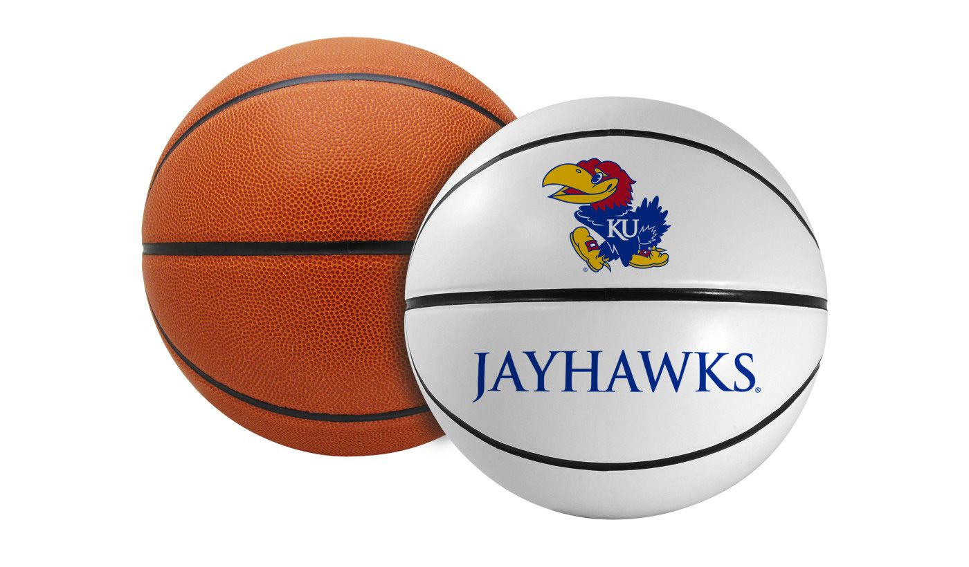 Rawlings Kansas Jayhawks Signature Series Full-Size Basketball