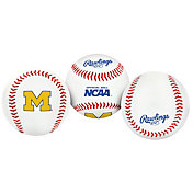 Rawlings Michigan Wolverines Logo Baseball