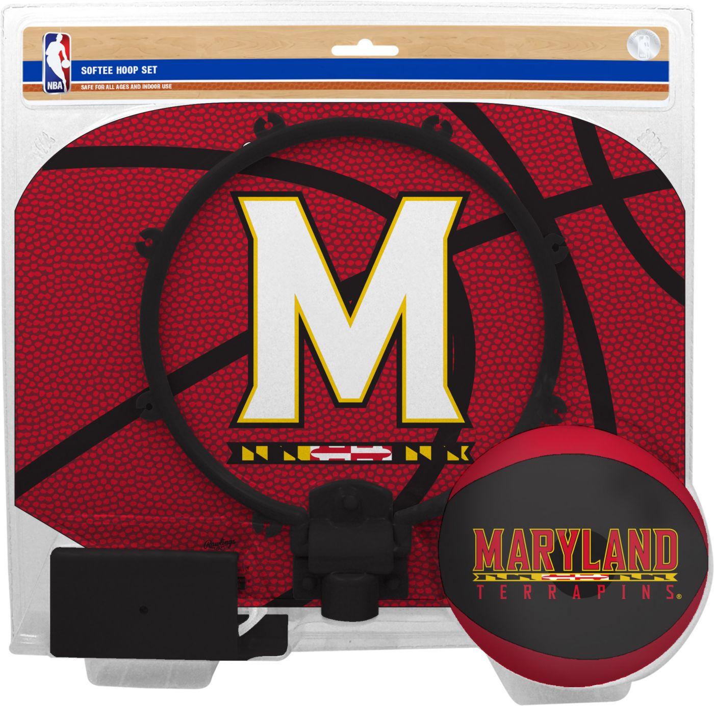 Rawlings Maryland Terrapins Slam Dunk Softee Hoop Set