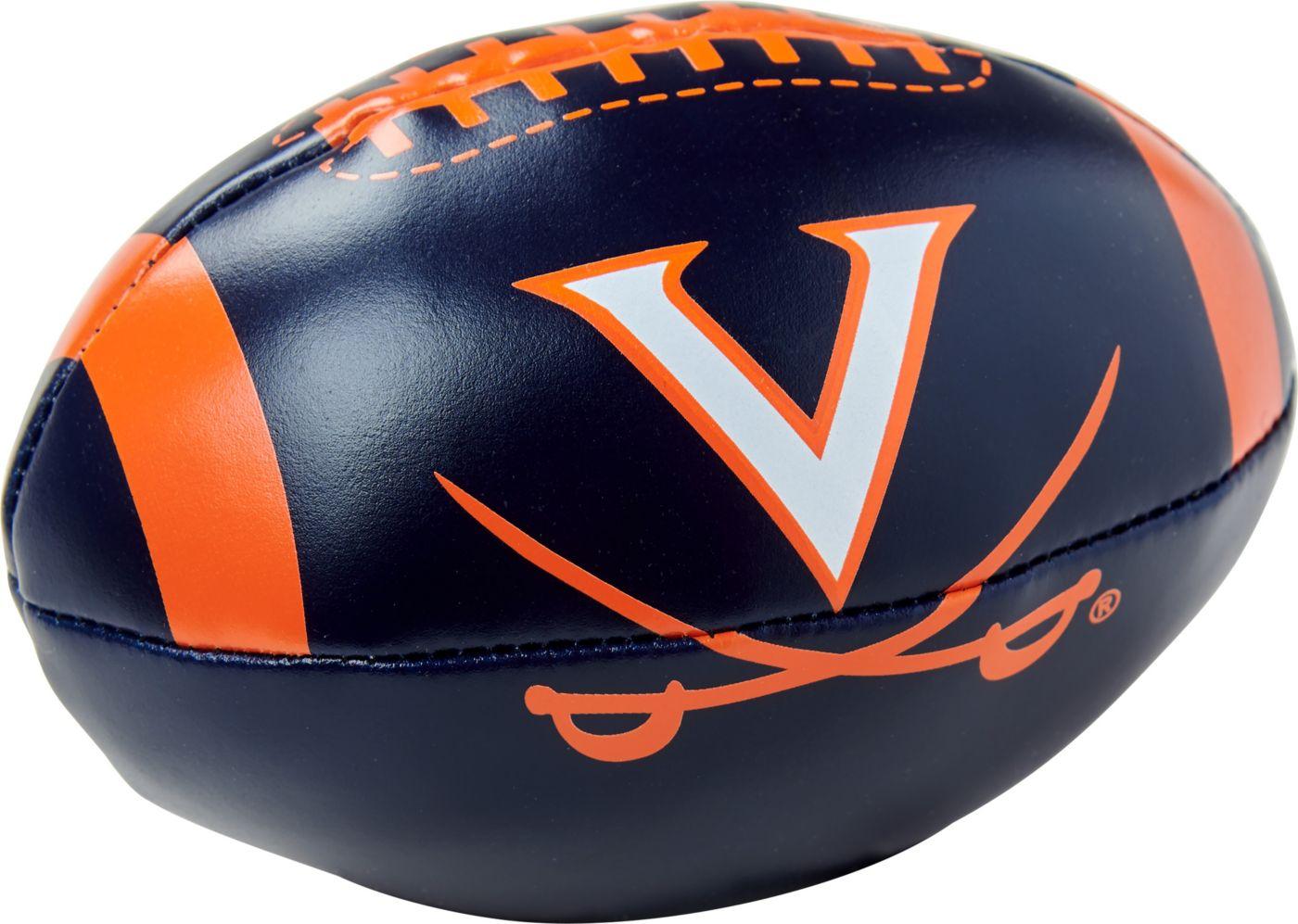 "Rawlings Virginia Cavaliers Quick Toss 4"" Softee Football"