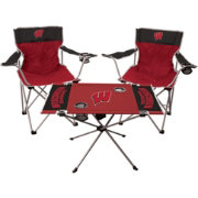 Rawlings Wisconsin Badgers 3-Piece Tailgate Kit
