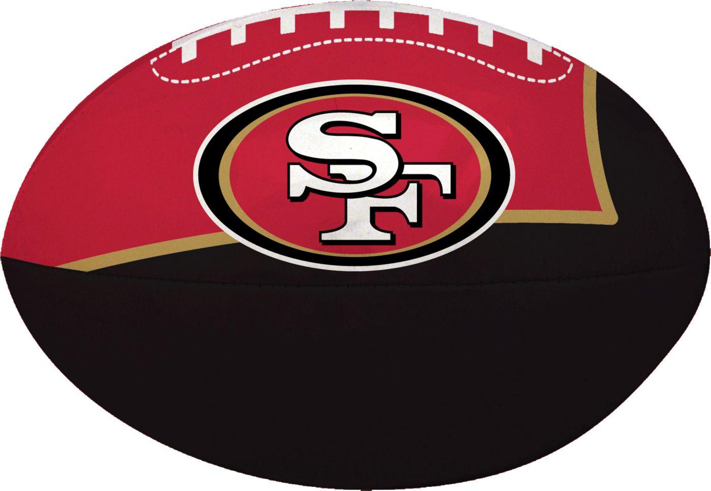 "Rawlings San Francisco 49ers Quick Toss 4"" Softee Football"