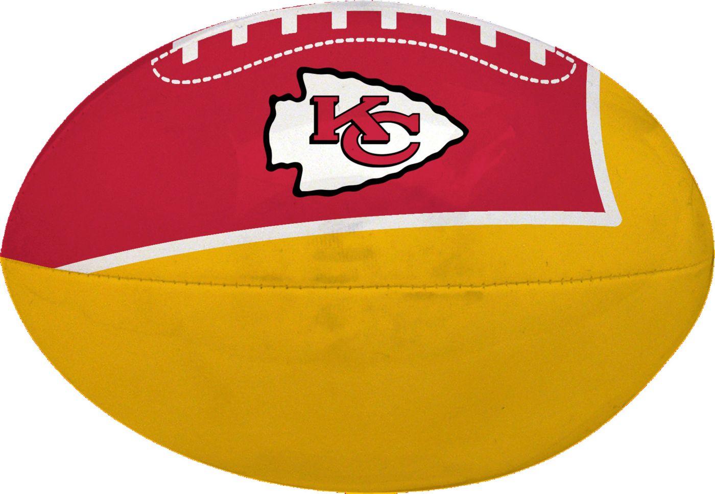 "Rawlings Kansas City Chiefs Quick Toss 4"" Softee Football"
