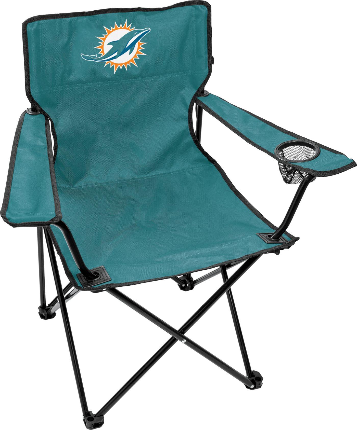 Rawlings Miami Dolphins Game Day Elite Quad Chair