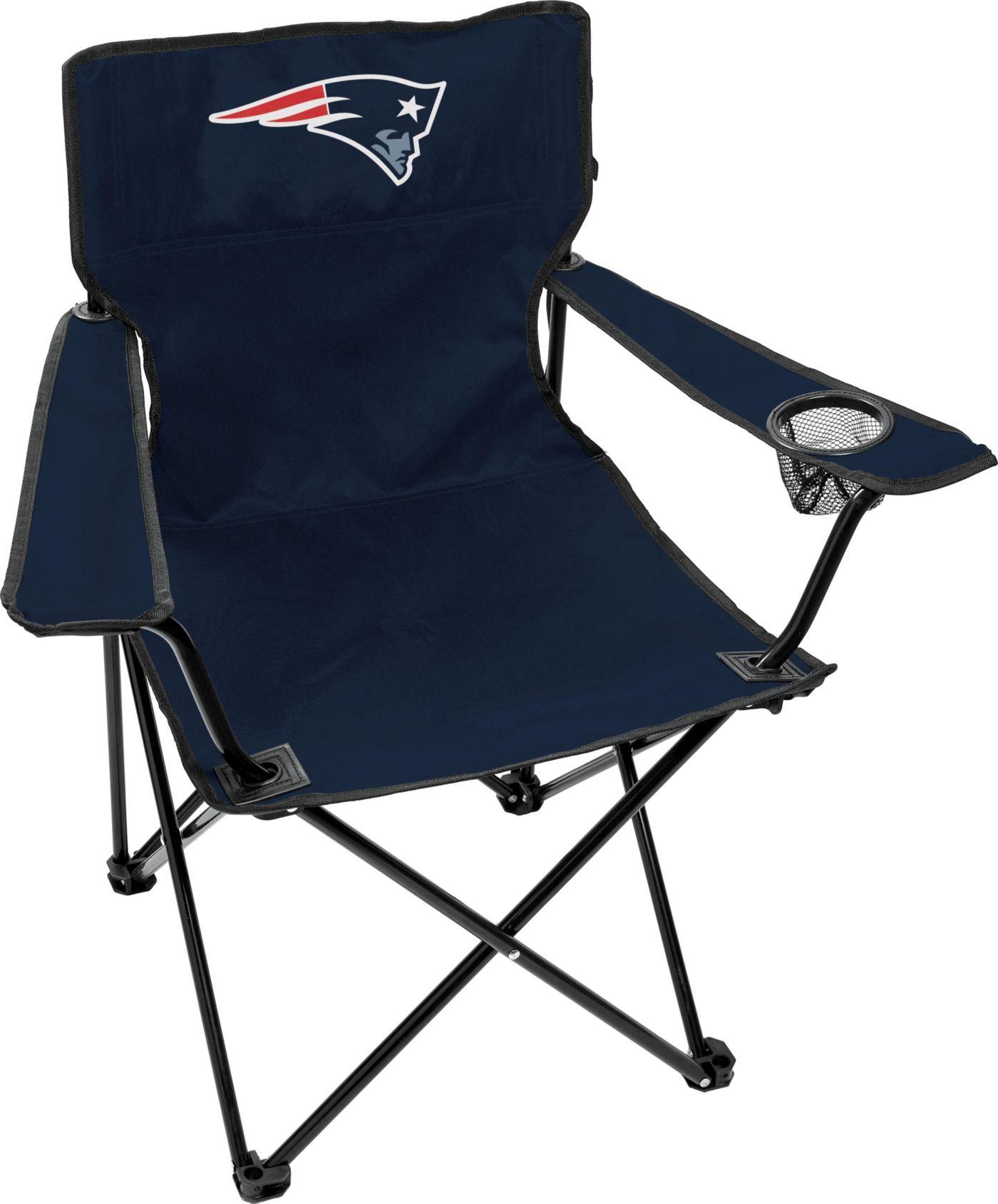 Rawlings New England Patriots Game Day Elite Quad Chair