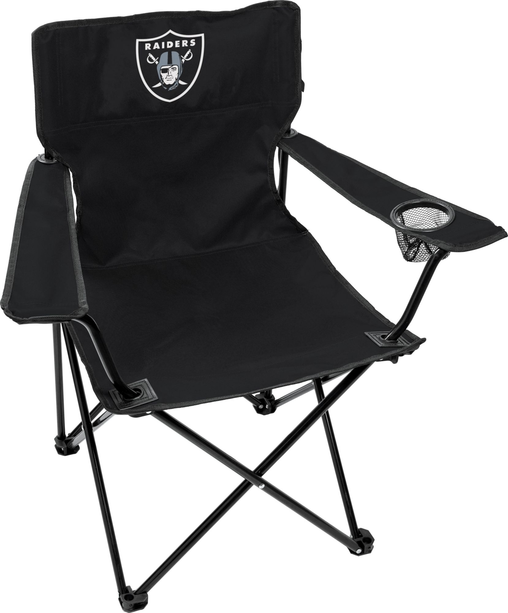 Attirant Rawlings Oakland Raiders Game Day Elite Quad Chair