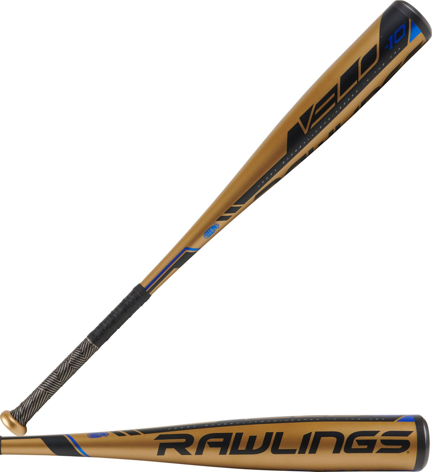 """Rawlings VELO 2¾"""" USSSA Bat 2019 (-10)"""