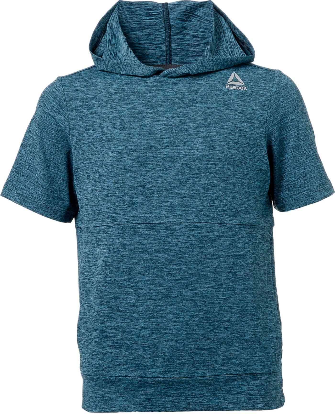 Reebok Boys' 24/7 Jersey Short Sleeve Hoodie