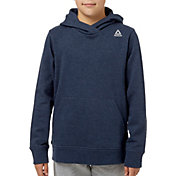Reebok Boys' Heather Cotton Fleece Hoodie