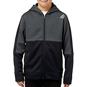 Reebok Boys' Performance Fleece Zip Up Hoodie