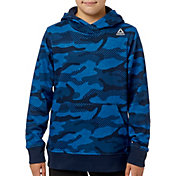 Reebok Boys' Printed Cotton Fleece Hoodie