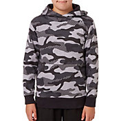 63d3de03bb0d45 Product Image · Reebok Boys  Printed Cotton Fleece Hoodie