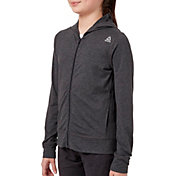 Reebok Girls' 24/7 Jersey Full Zip Jacket