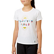 Reebok Girls' Cotton Graphic T-Shirt