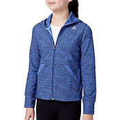 Reebok Girls' Double Knit Full Zip Hoodie