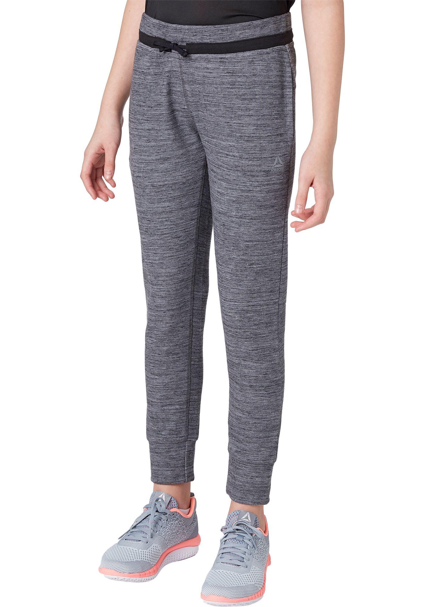 Reebok Girls' Double Knit Jogger Pants