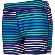 Reebok Girls' Printed Performance Solid Shorts