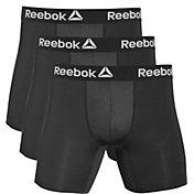 Reebok Men's Performance 6'' Boxer Briefs – 3 Pack