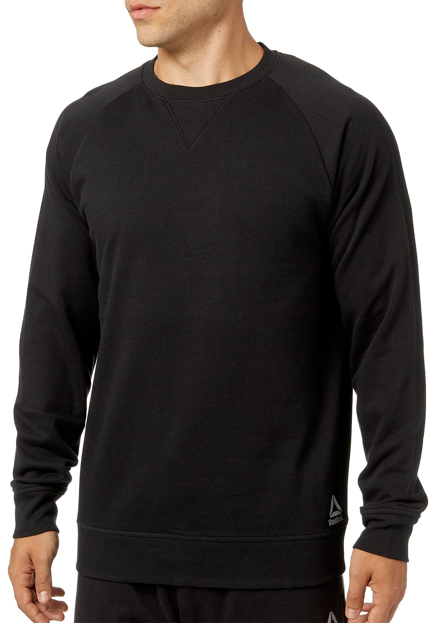 Reebok Men's Cotton Fleece Crewneck Sweatshirt