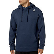 Reebok Men's Heather Cotton Fleece Hoodie