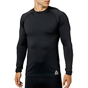 Reebok Men's Cold Weather Compression Crew Neck Long Sleeve Shirt