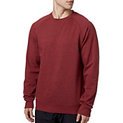 b1e11321330335 Product Image Reebok Men's Heather Cotton Fleece Heather Crewneck Sweatshirt