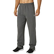 Reebok Men's Heather Cotton Fleece Straight Leg Pants