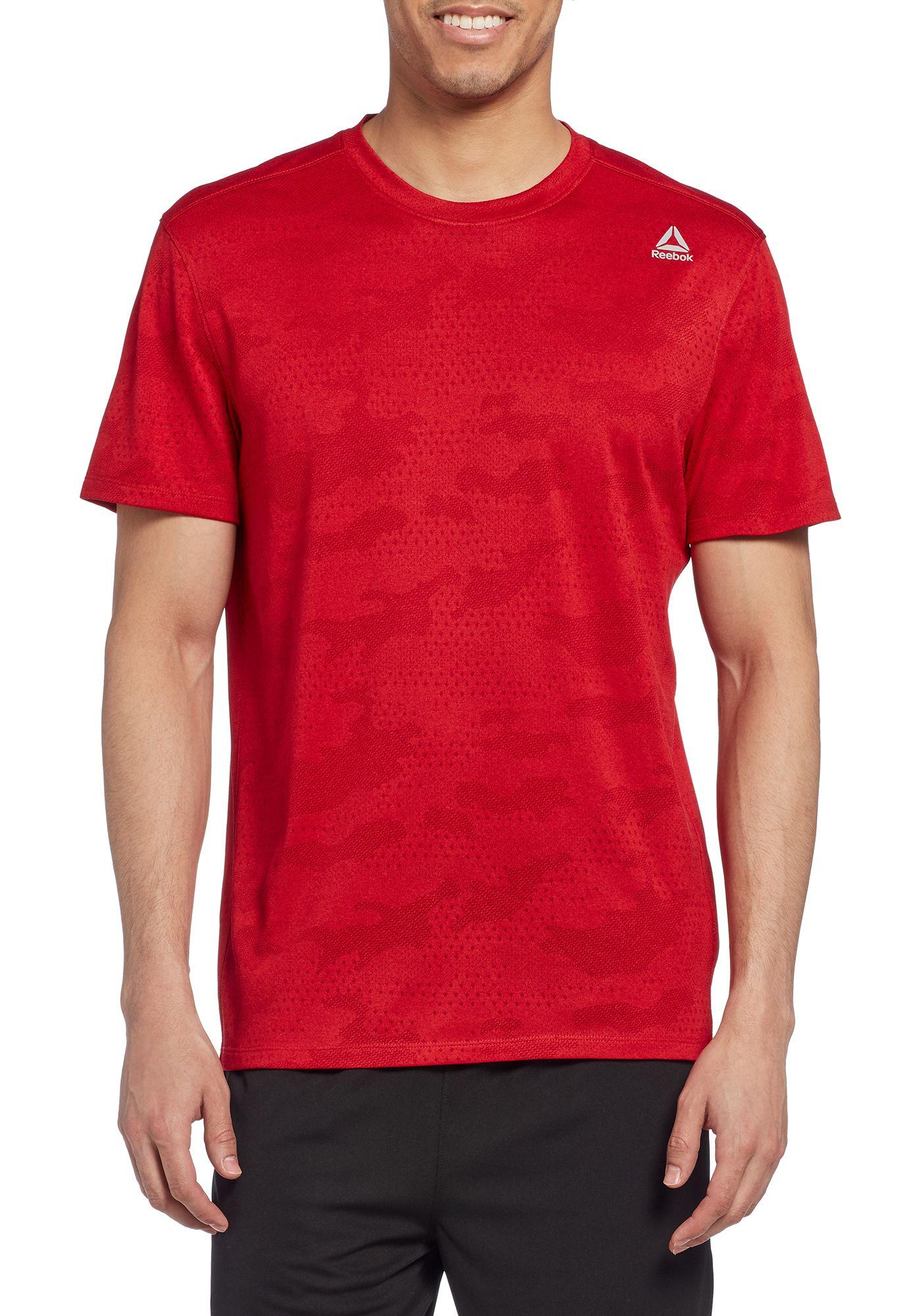 Reebok Men's Jacquard Performance T-Shirt