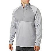 Reebok Men's Heather Performance Fleece 1/2 Zip Jacket