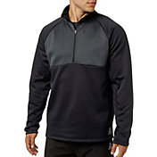 Reebok Men's Performance Fleece 1/2 Zip Jacket