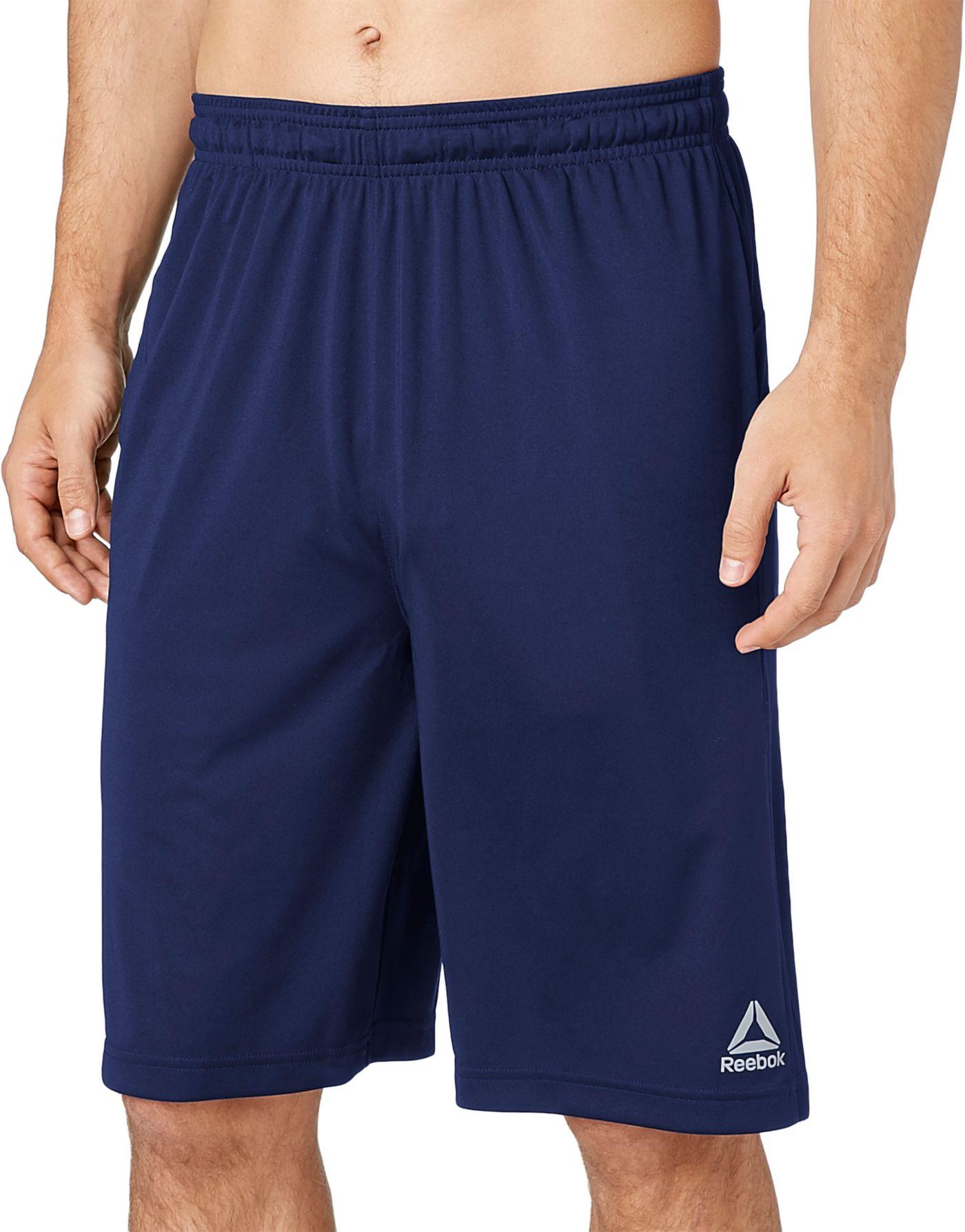 Reebok Men's Solid Performance Shorts