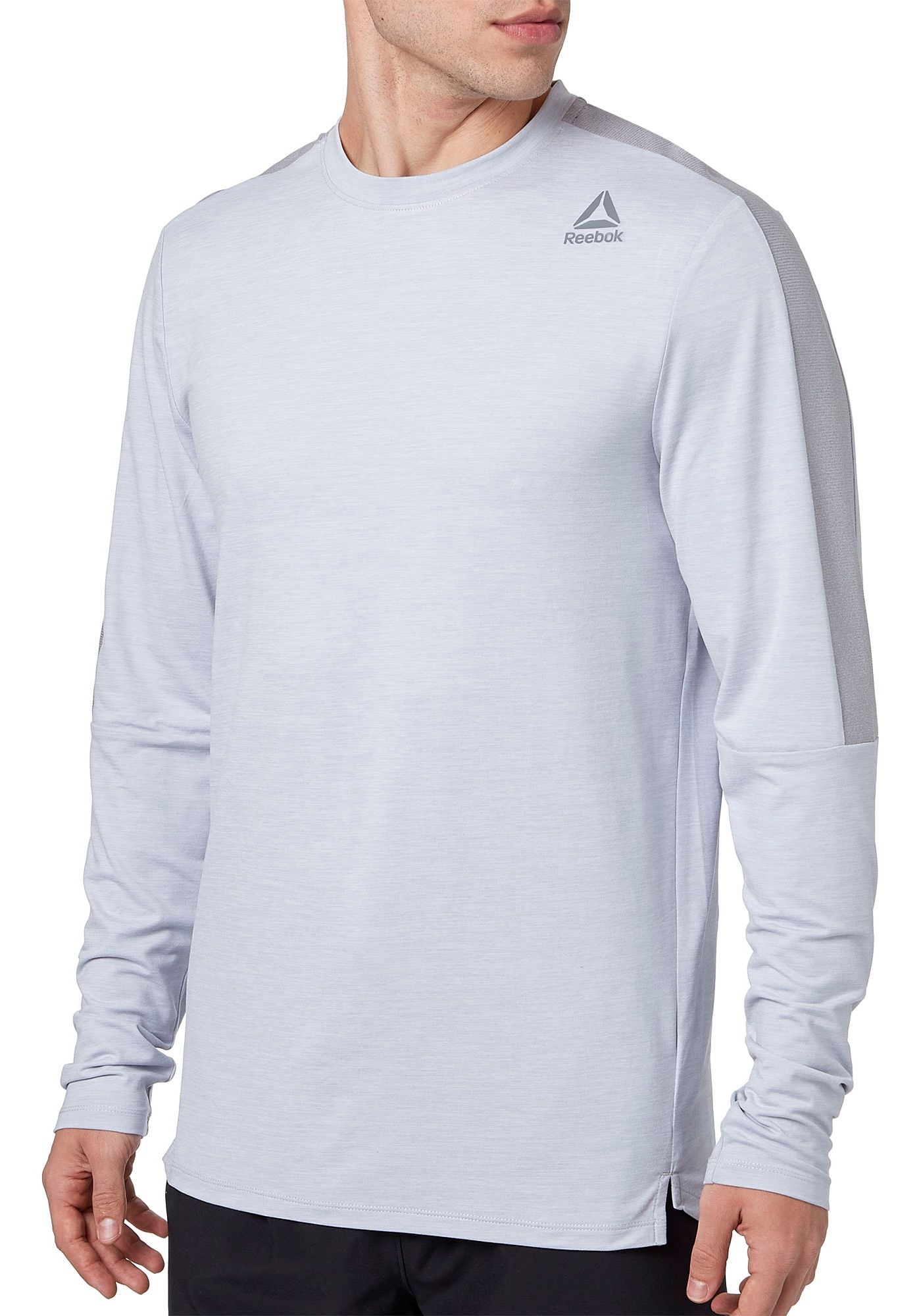 Reebok Men's 24/7 Crewneck Long Sleeve Shirt