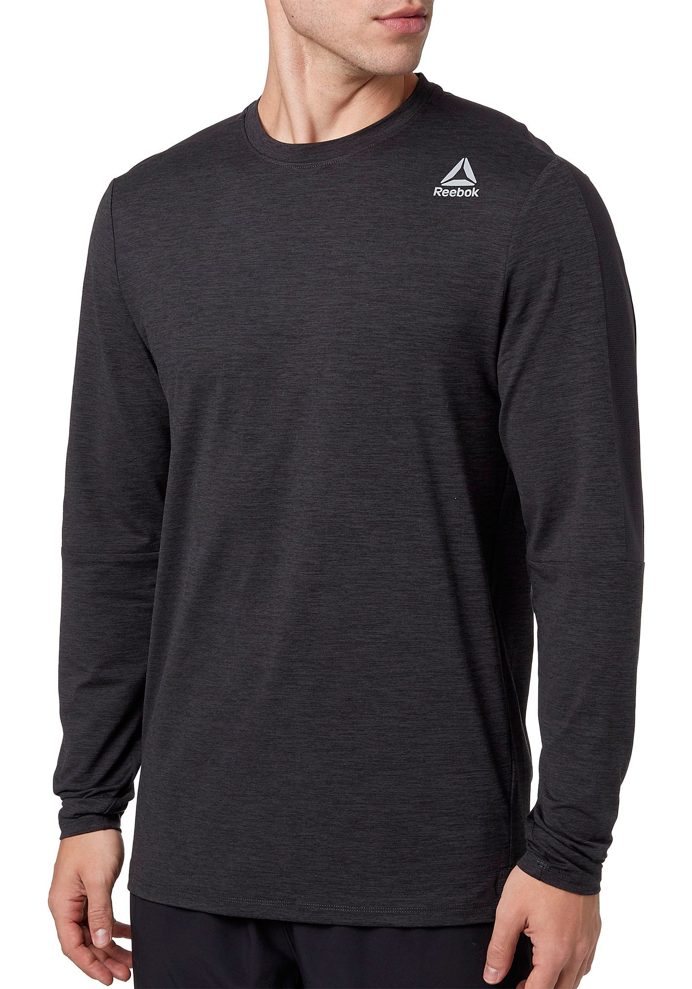 Reebok Men's 24/7 Crewneck Long Sleeve Shirt