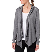 Reebok Women's 24/7 Hooded Cardigan