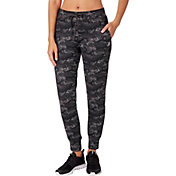 Reebok Women's 24/7 Jersey Printed Jogger Pants