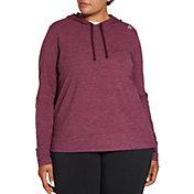Reebok Women's Plus Size 24/7 Jersey Hoodie